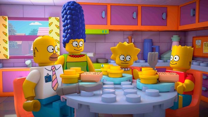 """""""Die Simpsons"""" aus LEGO am Montag auf ProSieben"""