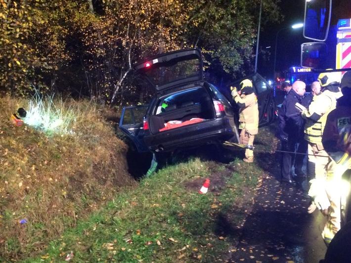 FW-Stolberg: Verletzte Autofahrerin nach Verkehrsunfall