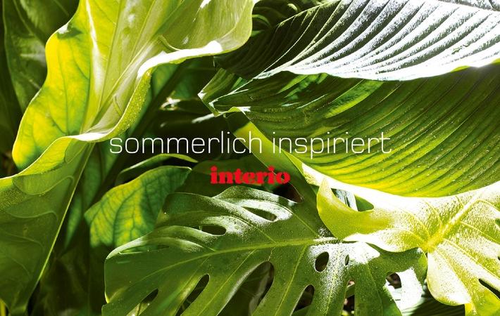 Interio: Sommerlich inspiriert - saisonal wohnen 2009 - Jetzt in allen Filialen
