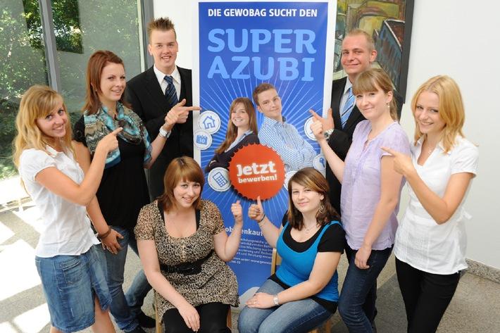 Zukunft gesucht - Ausbildungsplatz gefunden: Neun junge Leute starten im September eine Berufsausbildung bei der GEWOBAG (mit Bild)