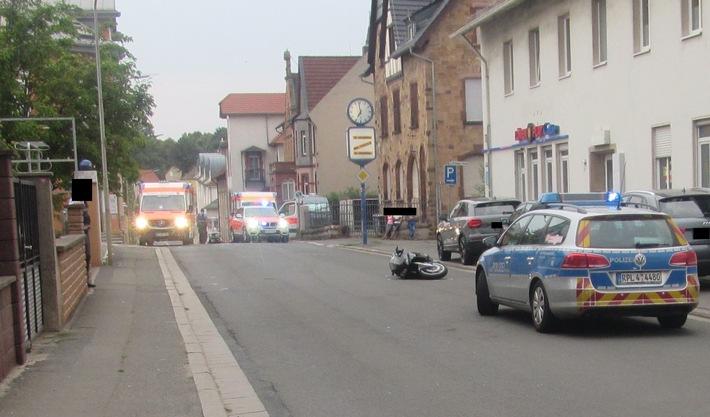 Motorradfahrer schwer verletzt - Zeugen gesucht!