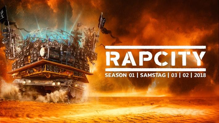 Rap City - Das Hiphop Indoor Festival der Schweiz