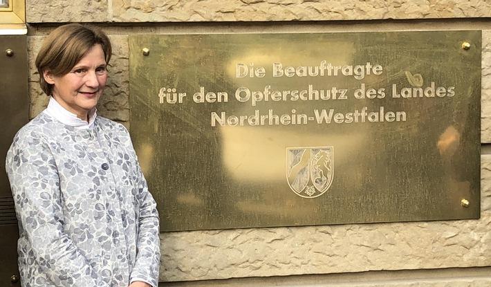 Die Opferschutzbeauftragte in NRW, Frau Elisabeth Auchter-Mainz