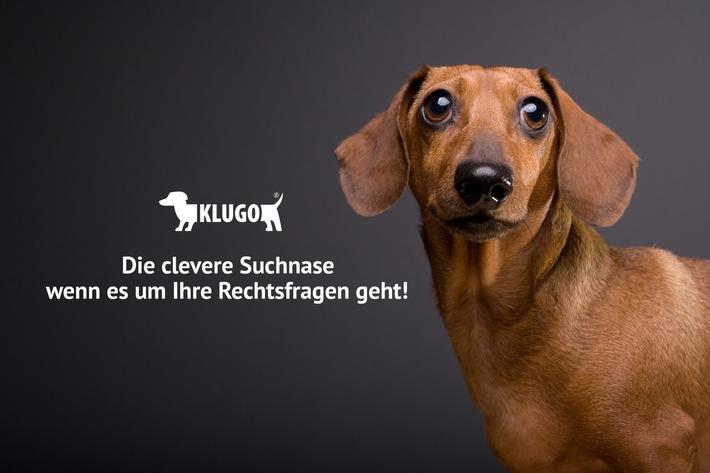 """Der Dackel ist das Markenzeichen von KLUGO. Weiterer Text über ots und www.presseportal.de/nr/36522 / Die Verwendung dieses Bildes ist für redaktionelle Zwecke honorarfrei. Veröffentlichung bitte unter Quellenangabe: """"obs/DEVK Versicherungen/KLUGO GmbH"""""""