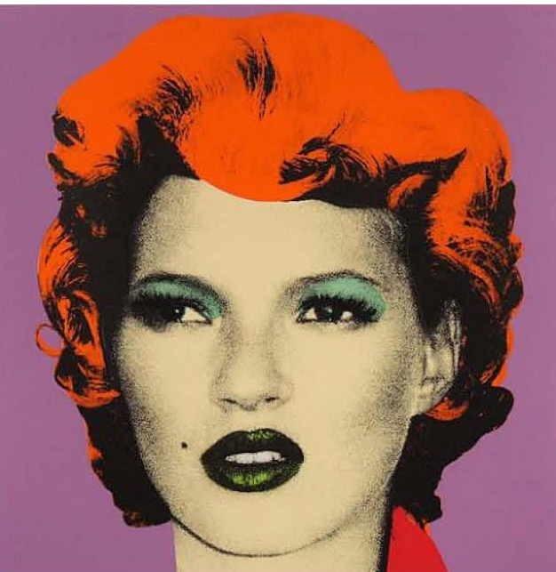 Graffiti und Street Art bei artnet: Banksy featuring Kate Moss