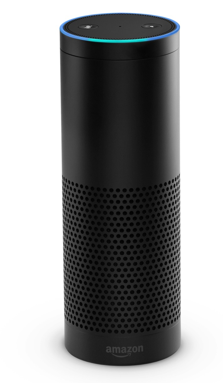 amazon alexa echo und der neue echo dot jetzt in. Black Bedroom Furniture Sets. Home Design Ideas