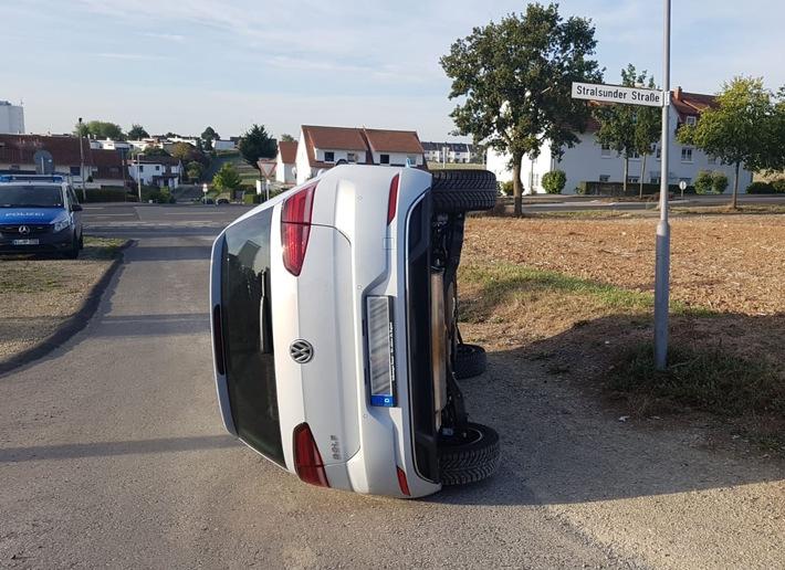 Unfall am 11.09.2018 in Vellmar-West im Landkreis Kassel