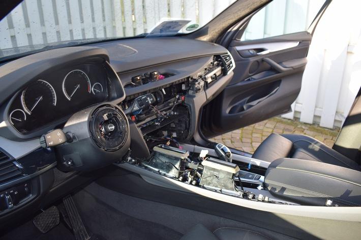 Der Innenraum des X 5