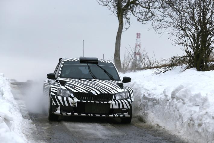 Der neue SKODA Fabia R 5 begeistert auch Rallye-Routinier Jan Kopecky