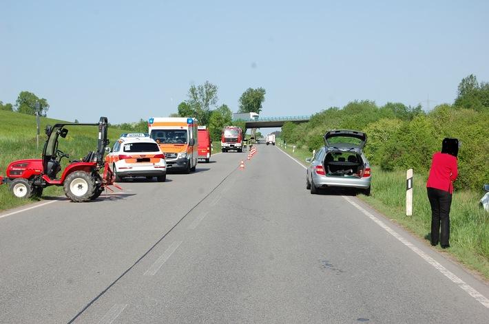 POL-PDKL: Zeuge nach Verkehrsunfall gesuchtVerkehrsunfall mit Personenschaden