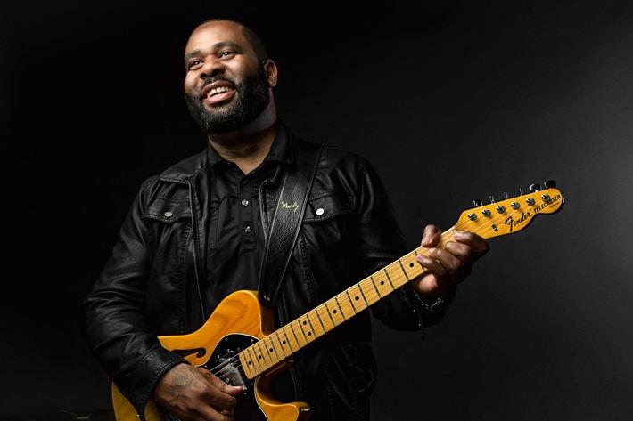 """Der amerikanische Gitarrist Kirk Fletcher kommt zum Lahnsteiner Bluesfestival. Weiterer Text über ots und www.presseportal.de/nr/7169 / Die Verwendung dieses Bildes ist für redaktionelle Zwecke honorarfrei. Veröffentlichung bitte unter Quellenangabe: """"obs/SWR - Südwestrundfunk"""""""