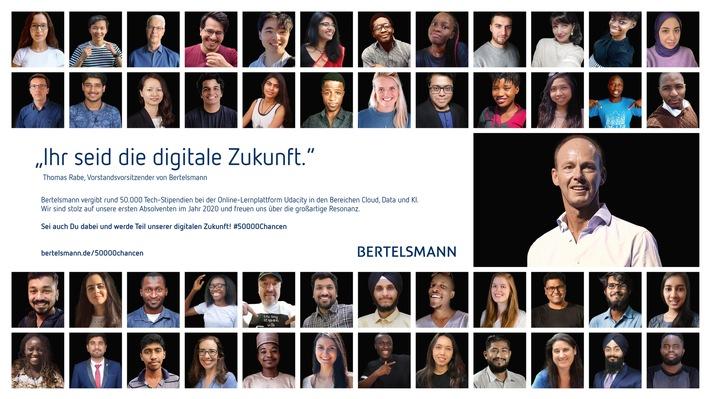 Bertelsmann wirbt erneut für Stipendien-Initiative #50000 Chancen: