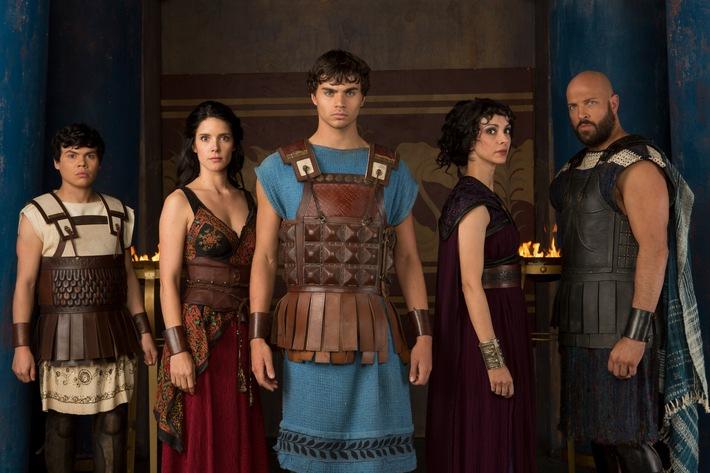 """RTL II zeigt die spannende Fantasy-Serie """"Olympus"""" als deutsche Erstausstrahlung"""