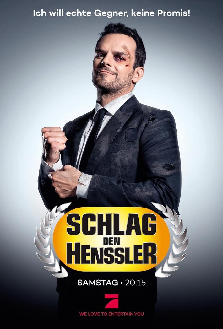"""""""Ich will echte Gegner, keine Promis!"""" Steffen Henssler bringt sich in der Kampagne zu """"Schlag den Henssler"""" in Stellung"""