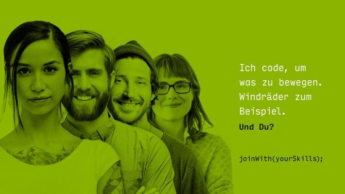 Gemeinsam die Energiewende gestalten - werde Teil des Teams! / Weiterer Text über ots und www.presseportal.de/nr/104174 / Die Verwendung dieses Bildes ist für redaktionelle Zwecke unter Beachtung ggf. genannter Nutzungsbedingungen honorarfrei. Veröffentlichung bitte mit Bildrechte-Hinweis.