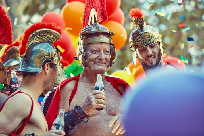 Coca-Cola feiert LGBT-Community / Weiterer Text über ots und www.presseportal.de/nr/7974 / Die Verwendung dieses Bildes ist ...