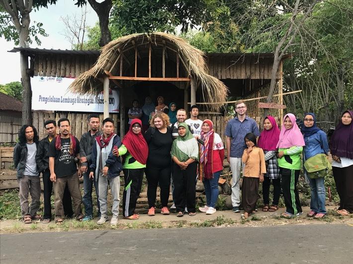 Projekt zur Entwicklung von Dorfgemeinschaften in Indonesien begonnen