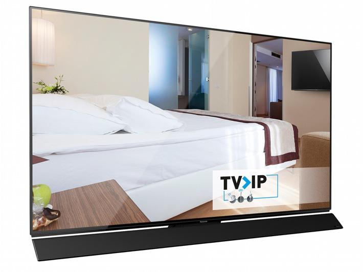 Panasonic Hotel-TV mit neuen Funktionen / Neue Panasonic TV-Modelle verschaffen jedem Hotel ein personalisiertes Erscheinungsbild