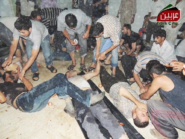 Commemorazione degli attacchi chimici siriani del 21 agosto 2013 / Green Cross richiede l'immediato sostegno internazionale alle vittime