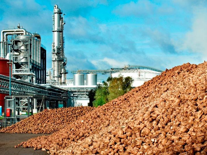 Bioethanolwerk der Nordzucker AG in Wanzleben-Brde, Sachsen-Anhalt. Weiterer Text ber ots und www.presseportal.de/nr/73390 / Die Verwendung dieses Bildes ist fr redaktionelle Zwecke honorarfrei. Verffentlichung bitte unter Quellenangabe: