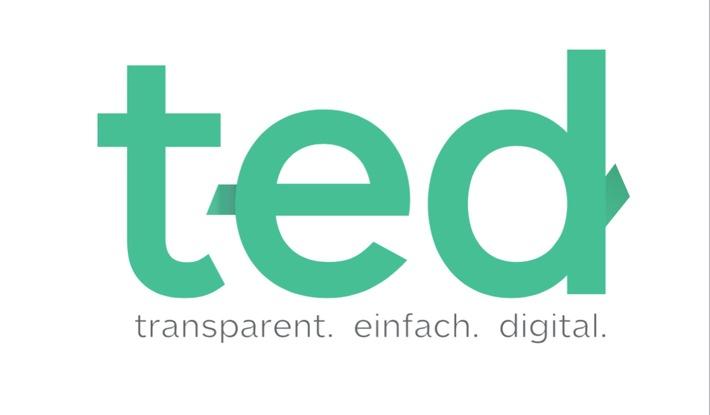 """Logo. Weiterer Text über ots und www.presseportal.de/nr/130658 / Die Verwendung dieses Bildes ist für redaktionelle Zwecke honorarfrei. Veröffentlichung bitte unter Quellenangabe: """"obs/TED GmbH"""""""