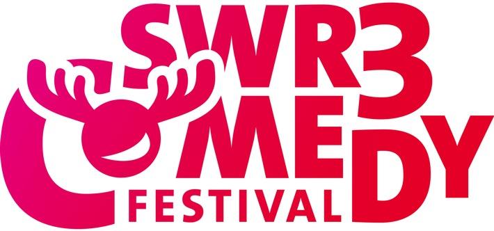 """SÜDWESTRUNDFUNK SWR3 Comedy Festival 2018 - 26. bis 28. April in Bad Dürkheim Logo. © SWR/SWR3, honorarfrei - Verwendung gemäß der AGB im Rahmen einer engen, unternehmensbezogenen Berichterstattung im SWR-Zusammenhang bei Nennung """"Bild: SWR/SWR3"""" (S2), SWR-Presse/Bildkommunikation, Baden-Baden, Tel: 07221/929-22453, foto@swr.de Weiterer Text über ots und www.presseportal.de/nr/7169 / Die Verwendung dieses Bildes ist für redaktionelle Zwecke honorarfrei. Veröffentlichung bitte unter Quellenangabe: """"obs/SWR - Südwestrundfunk"""""""
