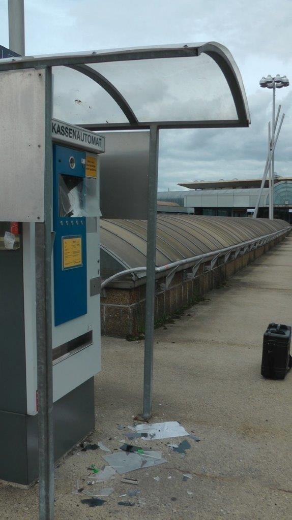 BPOL-KS: Kassenautomat auf Parkdeck aufgebrochen
