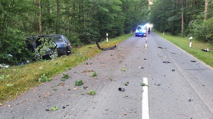 POL-GF: Tragischer Verkehrsunfall endet tödlich