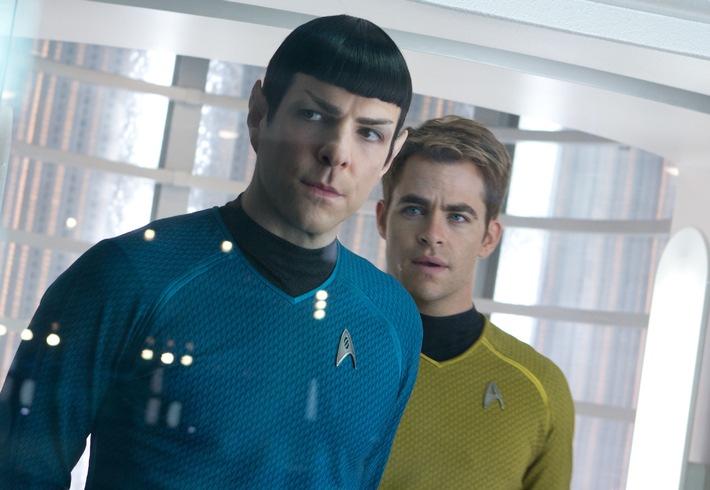 """Erfolgreichster """"Star Trek"""" aller Zeiten: """"Star Trek Into Darkness"""" am 5. April 2015 auf ProSieben"""