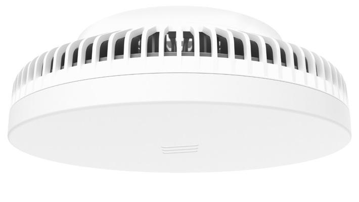 """Ericssons neue Antenne """"5G Radio Dot"""" ermöglicht gesteigerte Übertragungsleistungen im Indoor-Mobilfunk. 5G Radio Dot. Weiterer Text über ots und www.presseportal.de/nr/13502 / Die Verwendung dieses Bildes ist für redaktionelle Zwecke honorarfrei. Veröffentlichung bitte unter Quellenangabe: """"obs/Ericsson GmbH"""""""