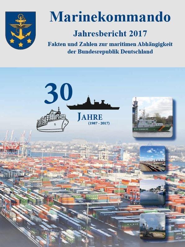 Das Deckblatt des Jahresberichtes 2017