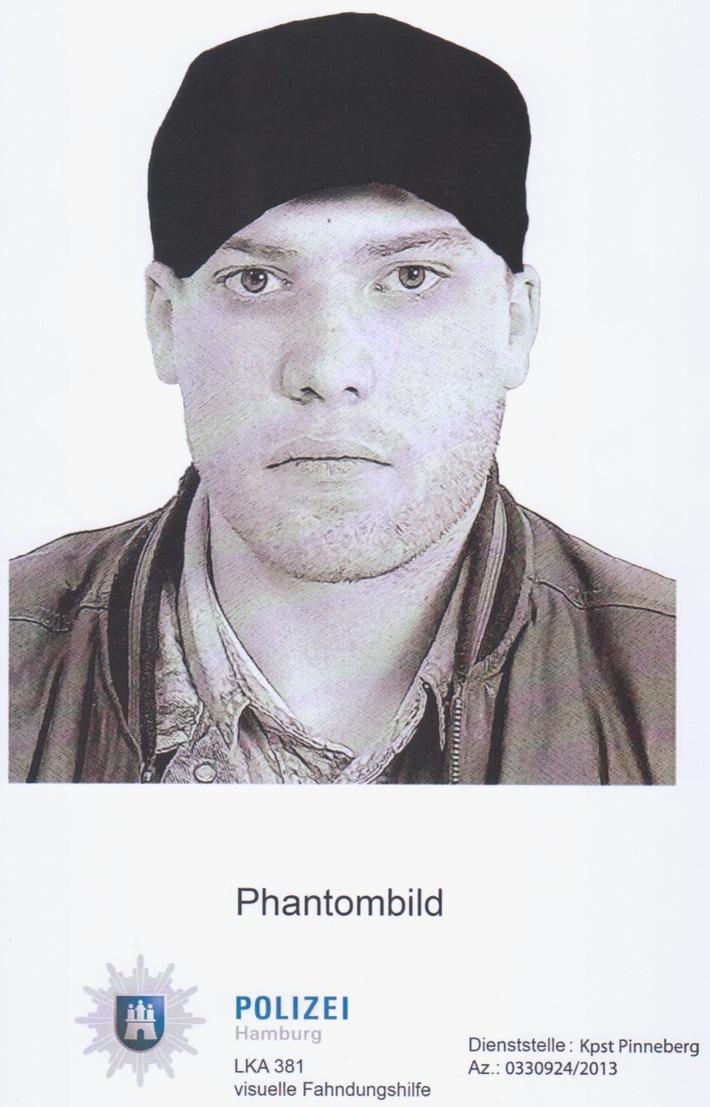POL-SE: Quickborn: Kriminalpolizei fahndet mit Phantombild nach Angreifer