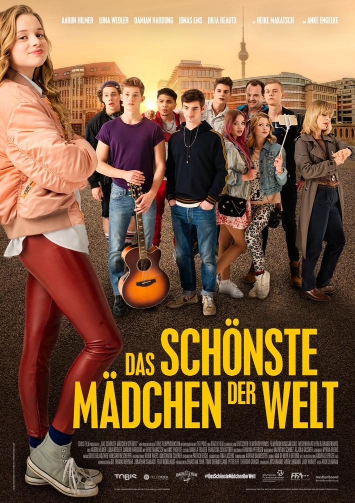 """""""Das schönste Mädchen der Welt""""-Plakat - Die Darsteller bei CinemaxX live erleben! Weiterer Text über ots und ..."""
