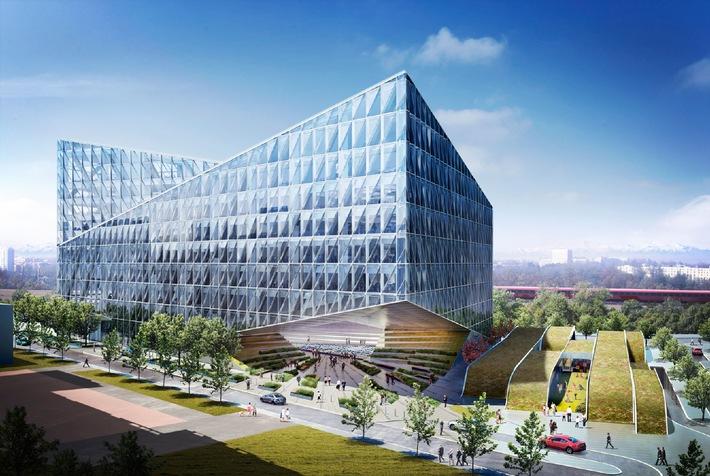 Nuova sede sociale internazionale di JTI a Ginevra: inizio dei lavori nella primavera 2012 / Confermato il progetto per l'asilo nido