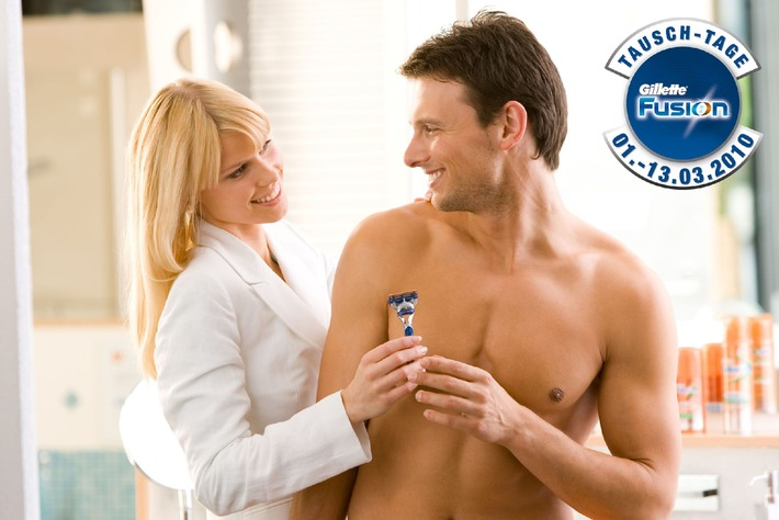 Die Tausch-Tage von Gillette Fusion: Jetzt gratis die beste Rasur von Gillette testen (mit Bild)