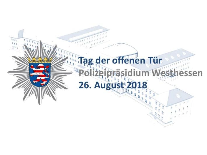 Tag der offenen Tür des Polizeipräsidiums Westhessen