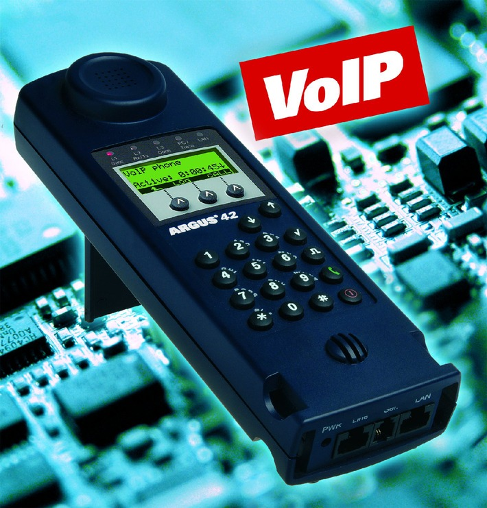 intec presents a flexible and economical entry-level tester for VoIP, ADSL and ISDN