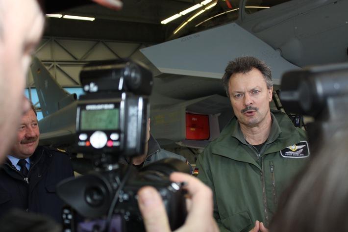 Luftwaffe konzentriert operationellen Eurofighter-Flugbetrieb in Neuburg a.d. Donau (mit Bild)
