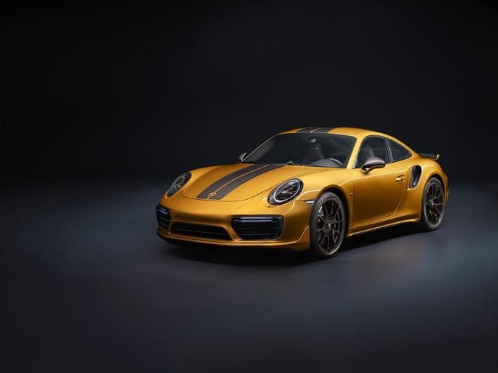 Potente, straordinaria e rara: la nuova 911 Turbo S Exclusive Series