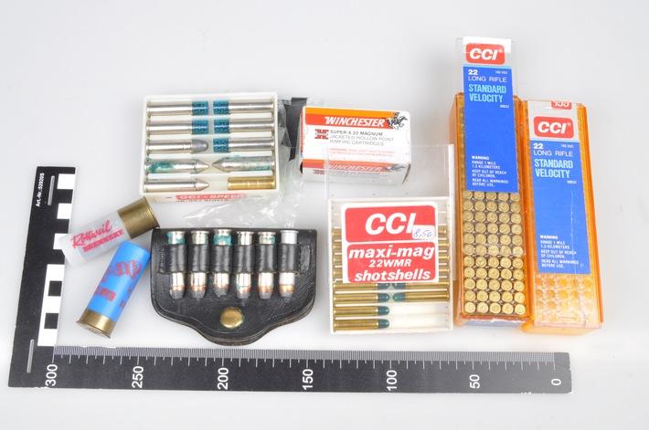 Wem gehört die abgebildete Munition?