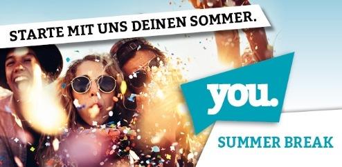 Pressetermine YOU Summer Break 2017