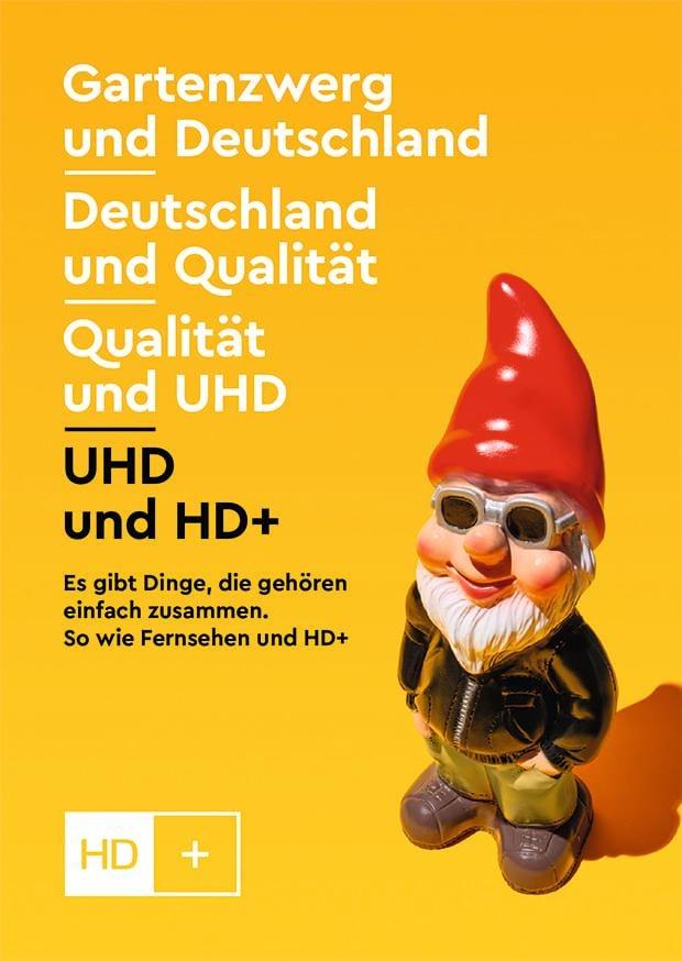 """HD+ startet aufmerksamkeitsstarke Imagekampagne / """"Fernsehen und HD+ gehören einfach zusammen"""" (FOTO)"""