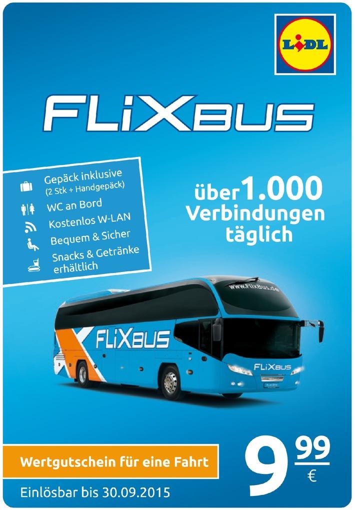 ▷ Mit Lidl und Flixbus für 9,99 Euro durch Deutschland reisen ...