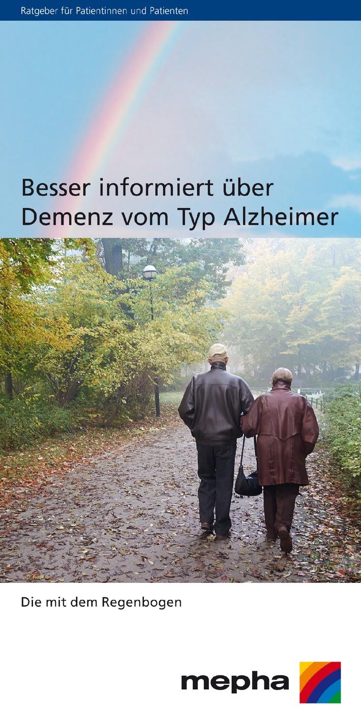 Neu von Mepha: Kostenloser Ratgeber zu Alzheimer (BILD)