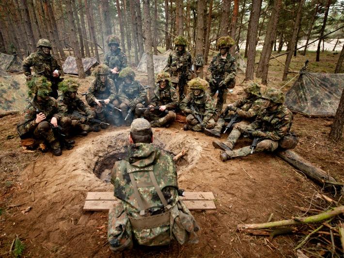 Grundausbildung Bei Der Bundeswehr Startet Nun Monatlich