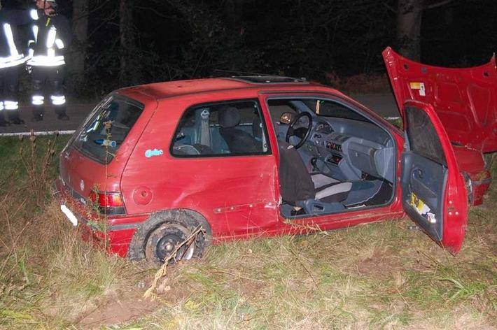 Verkehrsunfall Weilerbach / K25