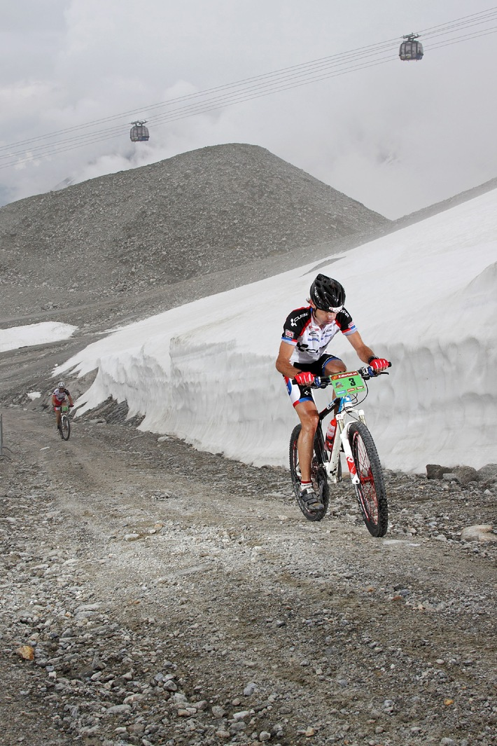 Neue Kategorie bei der Zillertal Bike Challenge: Conqueror/ Conqueress of the Ice! - BILD