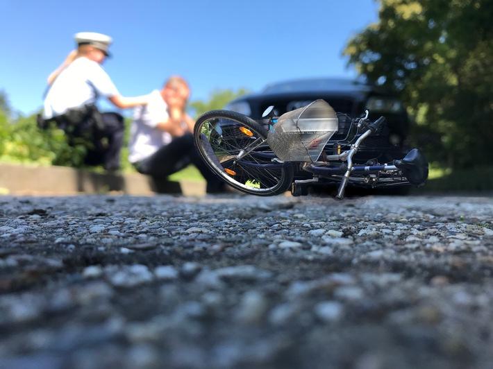 POL-NE: Unbekannter Fahrradfahrer nach Kollision mit weiterem Radler gesucht