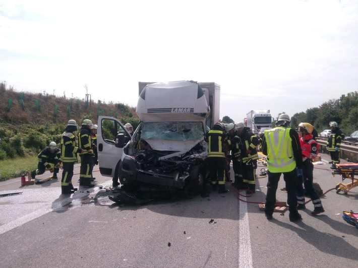 Unfall A61