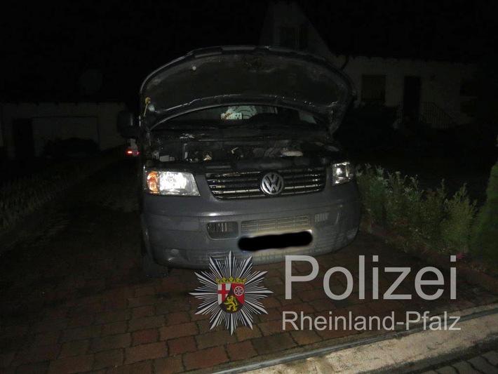 POL-PPWP: Enkenbach-Alsenborn-PKW in Brand gesetzt